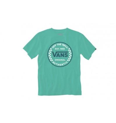Camiseta Vans Authentic Checker VN0A54D1Z6R1
