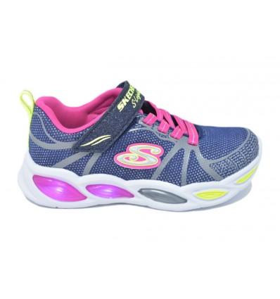 Skechers-Lights: Shimmer Beams-Sporty Glow 302042